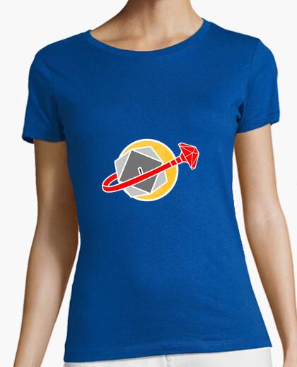 Camiseta logotipo de espacio de élite