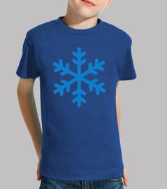 logotipo del copo de nieve
