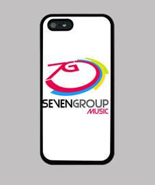 Logotipo grande Seven Group Music