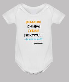 LOLASO CHACHO CHIMPA bebé blanca