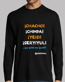 LOLASO CHACHO CHIMPA Chico manga larga negra