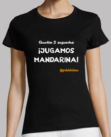 LOLASO JUGAMOS MANDARINA chica negra