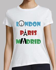 London - Paris - Madrid