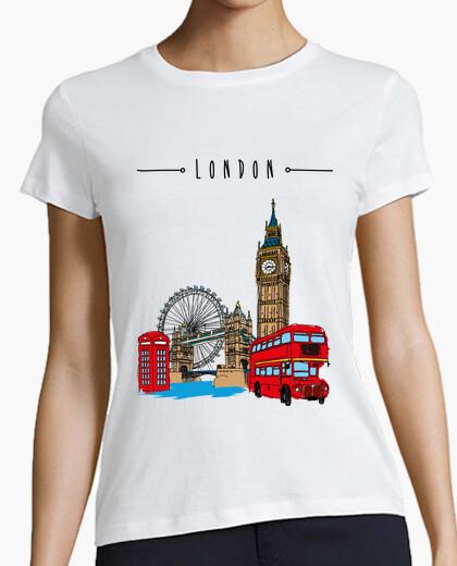 Camiseta Londres, Mujer