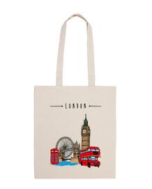 Londres, Tote Bag