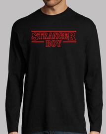 long manga t shirt stranger boy