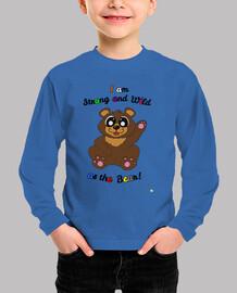 long sleeve t-shirt bear