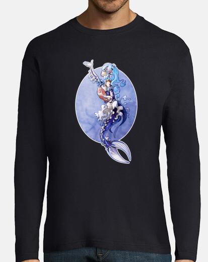 long sleeve tshirt rem mermaid
