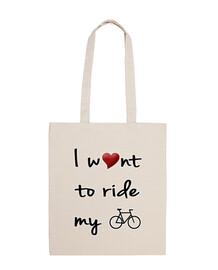 longues balades en vélo sac de course