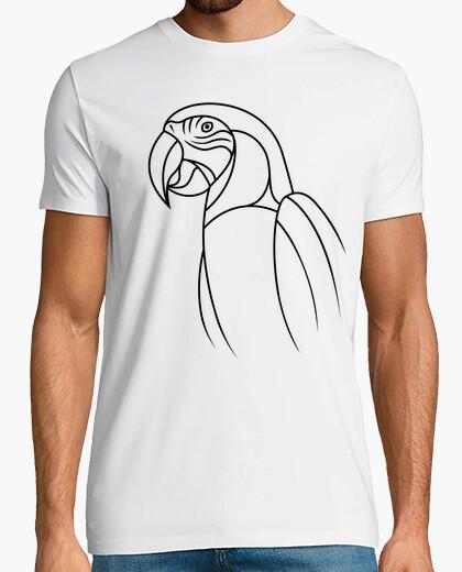 Camiseta Loro minimalista