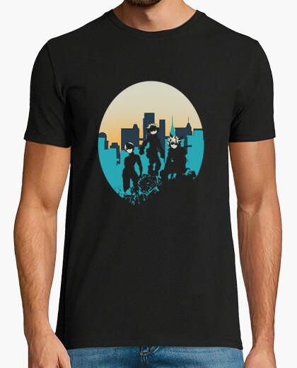 Camiseta los 3 héroes
