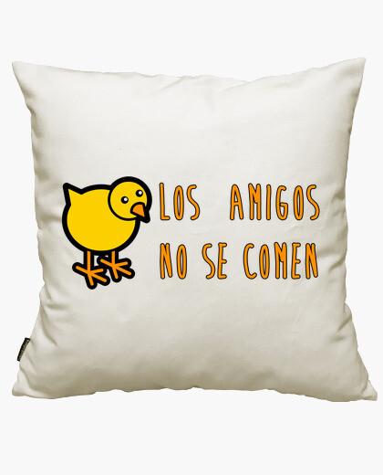 Funda cojín Los Amigos No Se Comen!