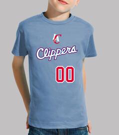 Los Angeles Clippers (PON TU NOMBRE EN LA ESPALDA)