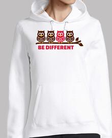 los búhos sean diferentes