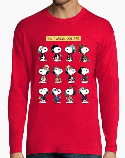 Camiseta los doce dogtors