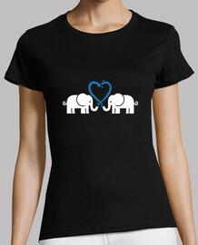 los elefantes aman