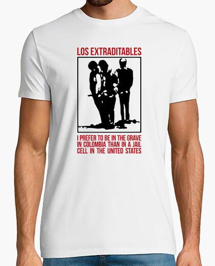 Camiseta Los Extraditables - inglés