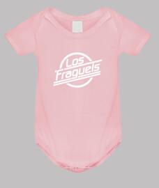 Los Fraguels Logo blanco - Bebé niña