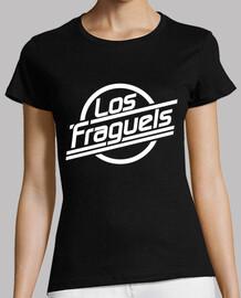Los Fraguels Logo blanco - Mujer