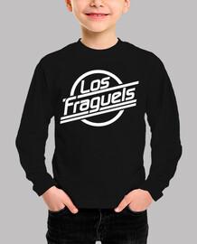 Los Fraguels Logo blanco - Niño