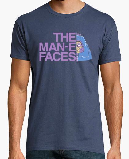 Camiseta los hombres-e-caras