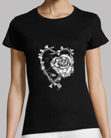 los huesos de rosas de amor muertos al