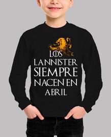 Los Lannister Siempre en Abril niños