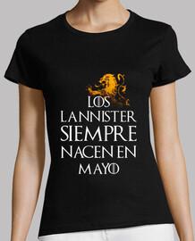 Los Lannister Siempre en Mayo mujer