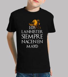 Los Lannister Siempre en Mayo niños