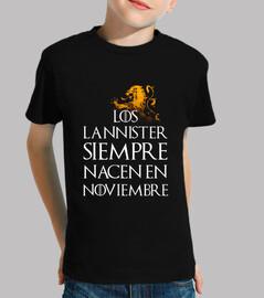 Los Lannister Siempre en Noviembre