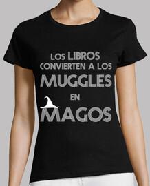 Los libros convierten a los muggles en magos