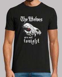 los lobos están fuera esta noche, fantasía, huesos