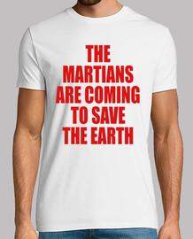 los marcianos vienen a salvar el eart