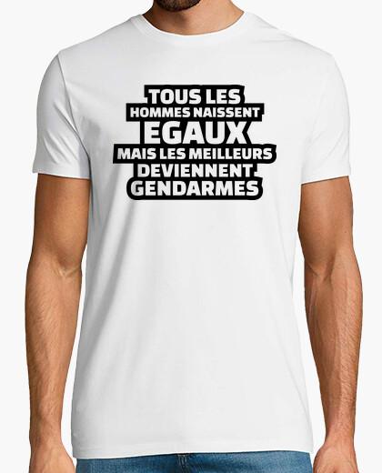 Camiseta los mejores se convierten en gendarmes