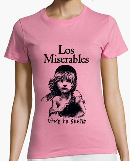 Camiseta Los Miserables - Vive un sueño