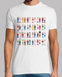 los píxeles futbolistas europeos