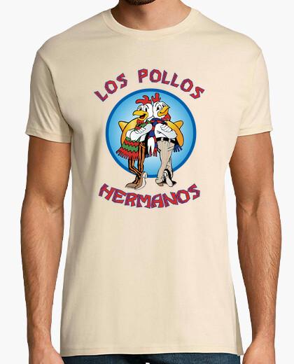 Tee-shirt Los pollos hermanos (fond clair)