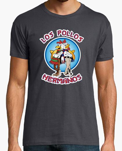 Tee-shirt Los pollos hermanos (fond noir)