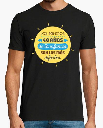 Camiseta Los Primeros 40 Años de la Infancia, 1980