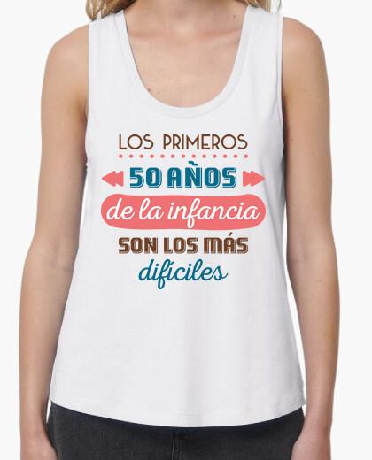 Camiseta Los Primeros 50 Años de la Infancia, 1970, Fondo Claro