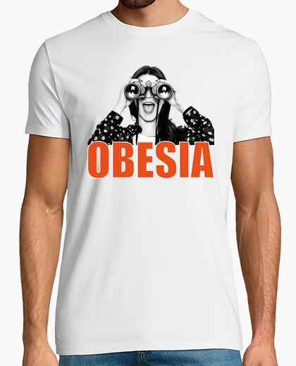 Los prismáticos- Camiseta de manga corta