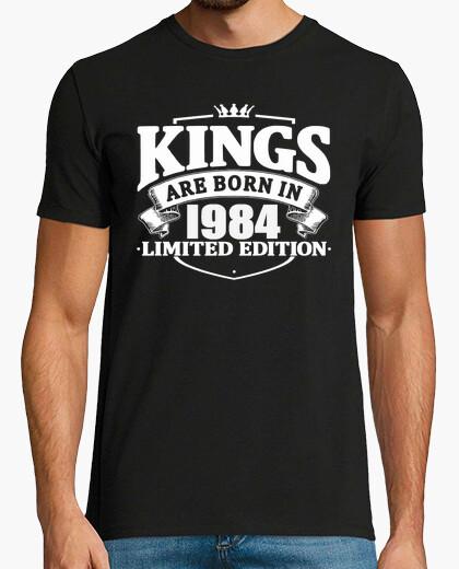 Camiseta los reyes nacen en 1984