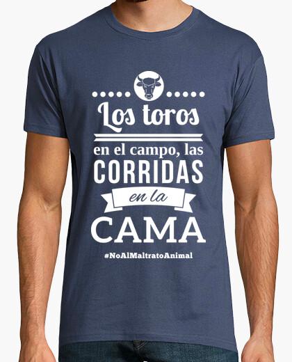 Camiseta Los Toros En El Campo, Las Corridas En La Cama!