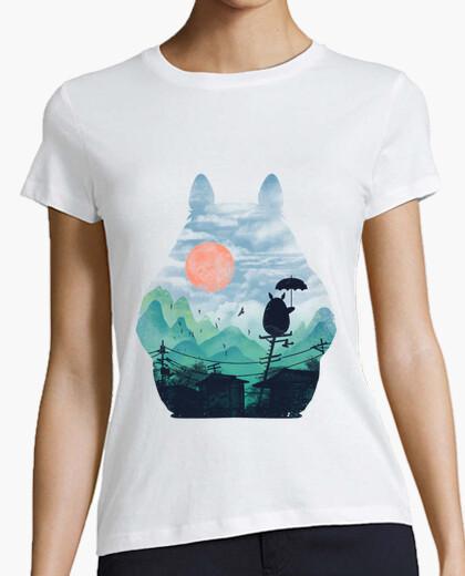 Camiseta los vecinos paisaje camisa mujer