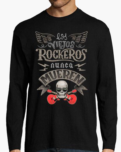 Camiseta Los viejos rockeros nunca mueren