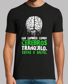 Los zombies comen cerebros,estas a salvo