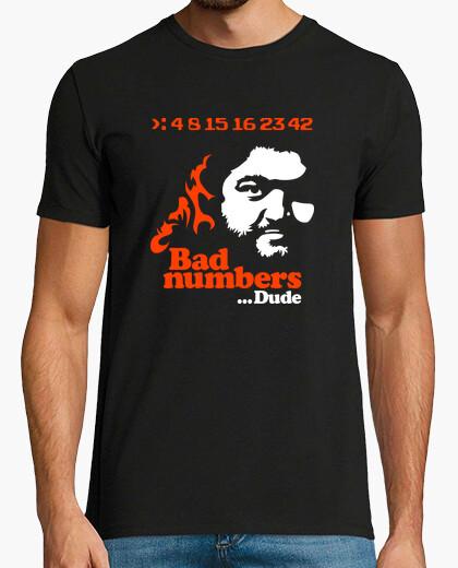 Camiseta LOST: Bad Numbers... Dude