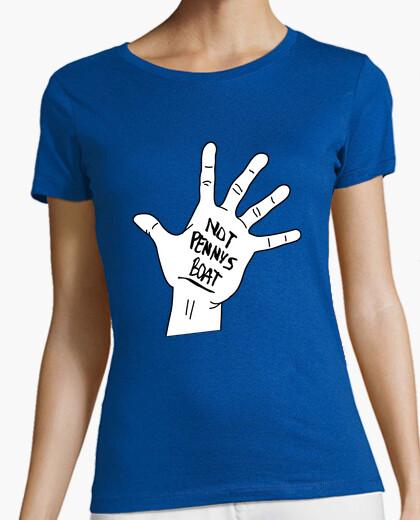 Camiseta Lost mano de Charlie (chica)