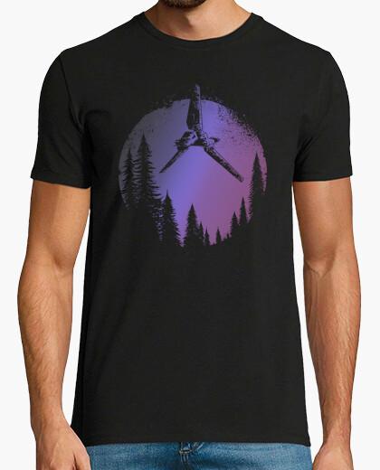 Camiseta Lost Space shuttle