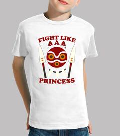 lotta come la principessa - mononoke della principessa